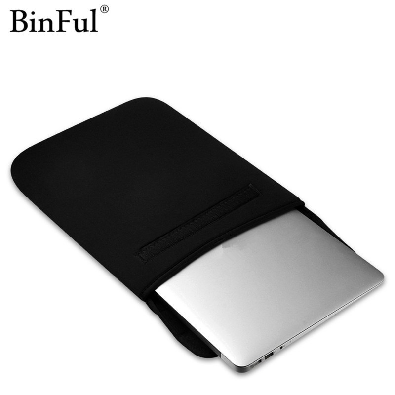 BinFul New Arrival Soft Laptop Bag Sleeve Case For Macbook Laptop AIR PRO Retina 11 12 13 15 inch Notebook Bag For 14 Case