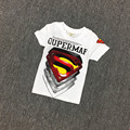 Free shipping,Hot sale clothes child clothing baby boy,Casual,t shirt,Fashion,Summer,Super hero,Tops & Tees,Korean,Kids wear