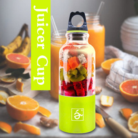 WR Mini Blender USB Charging Mode Small Juicer Extractor Household Portable Fruits Mixer Juice Machine Smoothie Maker