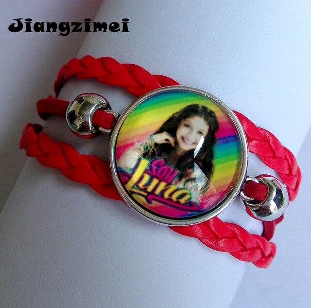 1 pz (8 disegni) Super pop cantante Di Soia Luna Elenco de Soia Luna Braccialett