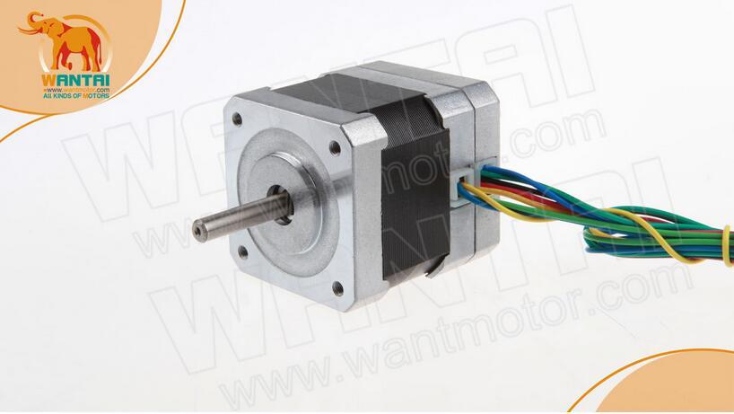 High quality!Wantai Nema17 Brushless DC Motor 4000RPM 52W24VDC 3PHS 42BLF02 CNC CE ISO ROHS Router Milling Laser Plasma