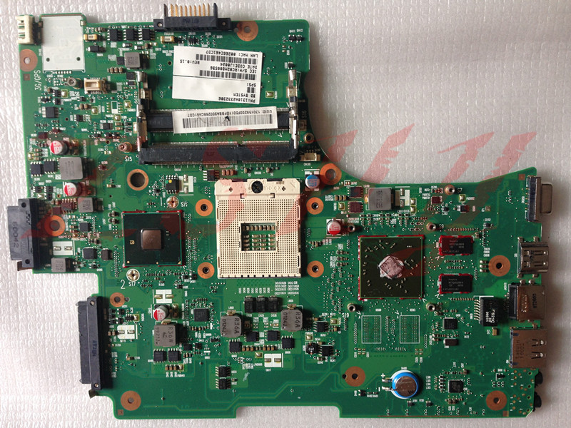 for Toshiba Satellite L655 L650 laptop motherboard 6050A2332301 V000218140 HM55 DDR3 Free Shipping 100% test ok