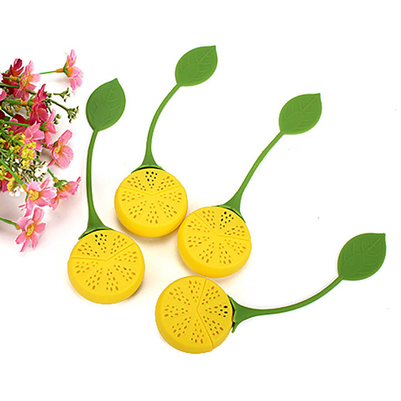1PC Tea Filter Tea Infuser Teapot Teabags Tea Strainer Silicone Sunflowers Shape Kitchen Gadgets