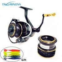 TSURINOYA Jaguar 1000 Spinning Fishing Reel 9 1BB Gear Ratio 5 2 1 Ultra Light Aluminum