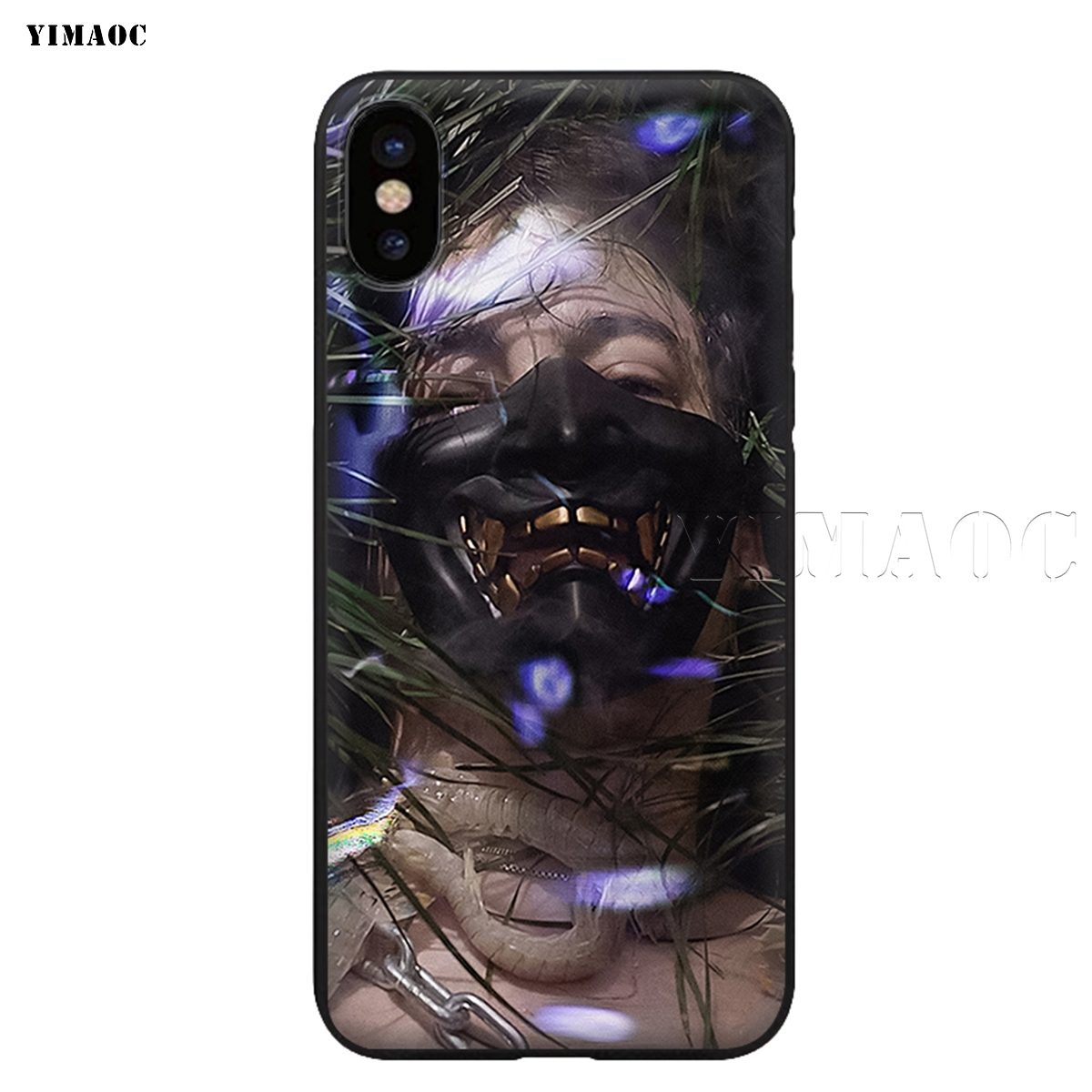 YIMAOC George Miller Joji Soft Silicone Case for iPhone XS Max XR X 8 7 6 6S Plus 5 5s se