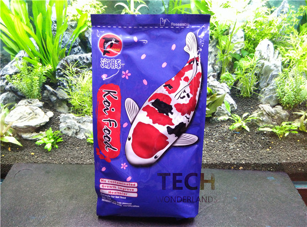 NEW ornamental fish feed koi food color enhancing food 1kg PORPOISE floating size S ...