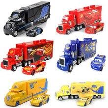 Disney Pixar тачки 3 Мак Молния Маккуин 1:55 грузовик литая модель автомобиля игрушка детский подарок на день рождения сплав Джексон шторм