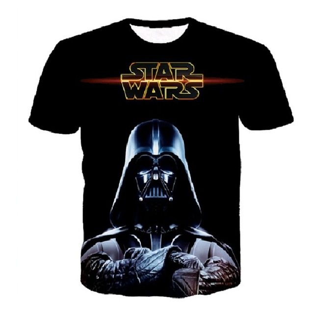 Darth Vader 3D Print T-shirt Star Wars