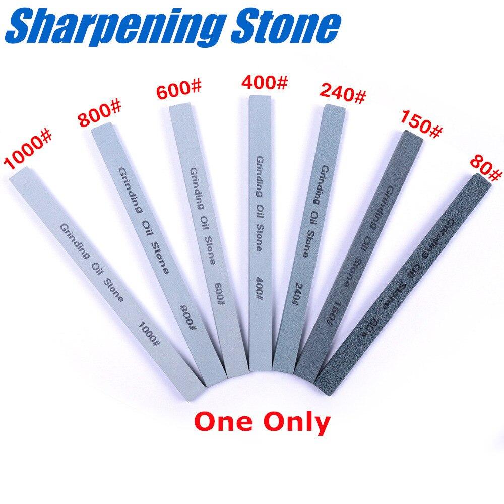1PC 80-1000 Grit Oil Stone Green Silicone Carbide Sand Bar Ceramic Knife Sharpener Whetstone Fine Grindstone