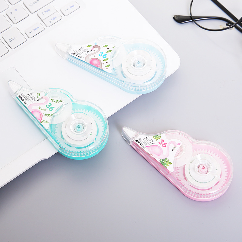 Flamingo Colorful Practical Correction Tape Promotional Gift Stationery Student Prize School Office Supply