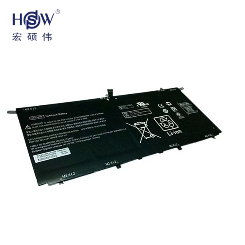 HSW 7.5V 51wh RG04XL Notebook Battery for HP Spectre 13-3000 13t-3000 TPN-F111 Series HSTNN-LB5Q TPN-F111 734746-421 batteria