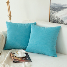 1 PC Corduroy Granules Soft Soild Decorative Square Throw Pillow Covers Set Cushion Case for Sofa Bedroom Car 18 x 18 Inch цены