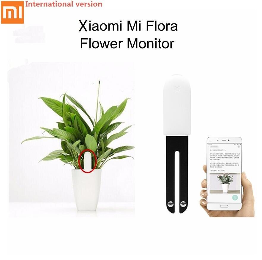 все цены на Xiaomi Mi Flora Monitor Digital Plants Grass Flower Care Soil Water Light Smart Tester Sensor for Garden (International version)