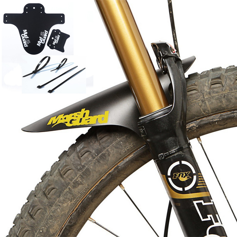 WOSAWE Bicycle Fender Lightest MTB Front Mudguards Tire Tyre Mountain BMX Racing Touring Road MTB Bike Fender 1 Piece цена