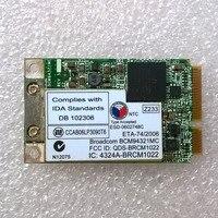 BCM94321MC Dual Band 802 11n PCI Express Mini Wifi Card For Lenovo Thinkpad 3000 N100 N200
