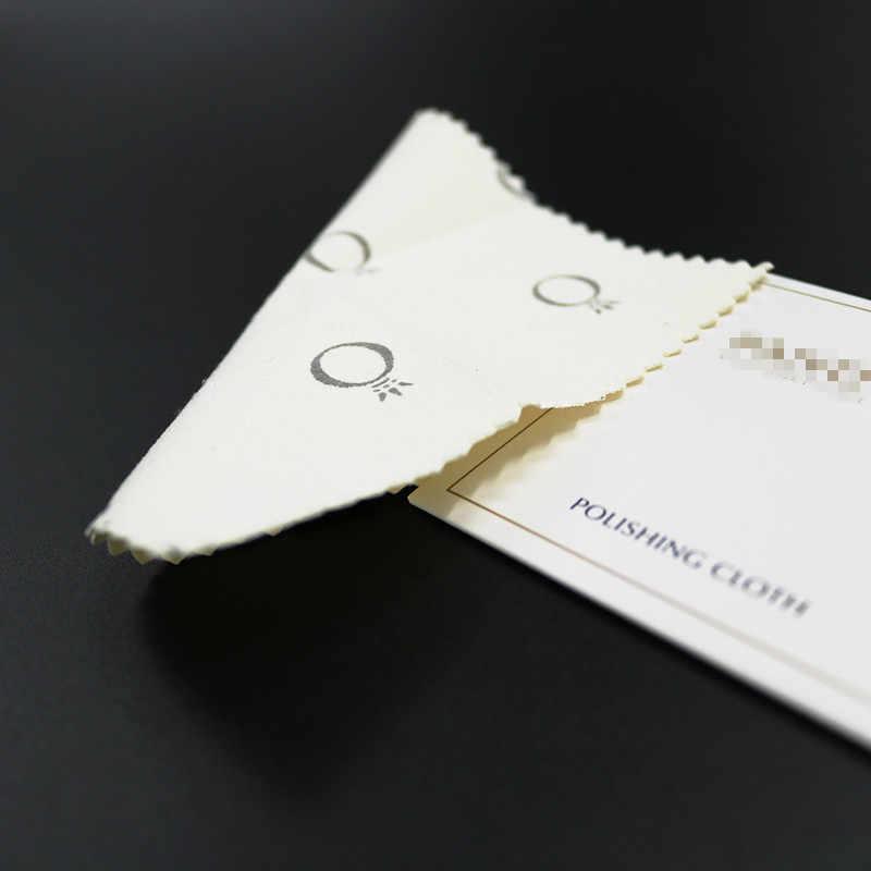10*10 Cm Bạc Vàng Trang Sức Làm Sạch Bụi Vải Đánh Bóng Trang Sức Chống Hoen Ố Tự Làm Dụng Cụ Làm Phụ Kiện Trang Sức C1