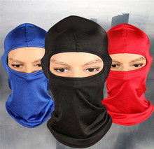 Outdoor Ski Motorcycle Cycling Balaclava Full Face Mask Neck Ultra Thin CZ-012
