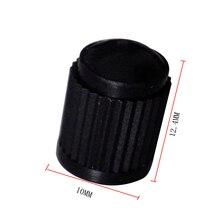 цена на 10 Pcs Plastic Dust Valve Caps Bike Car Wheel Tyre  Valve Stem Caps Motorcycle Tyre  Valve Caps Car Accessories Black