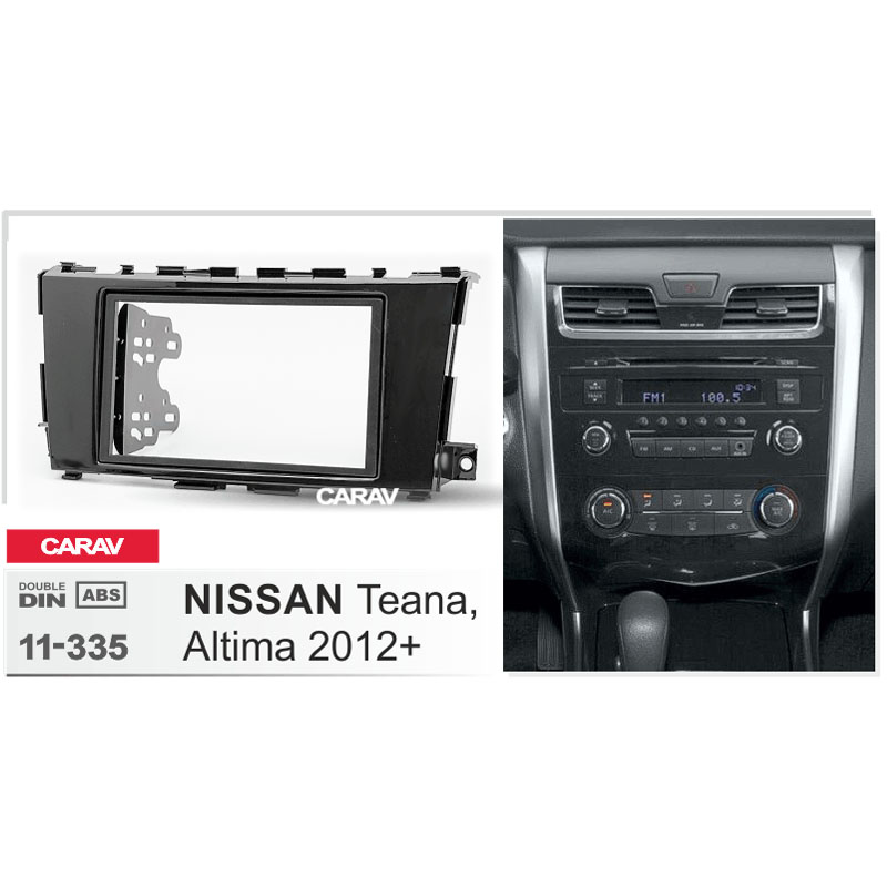 carav 11 335 car radio facia for nissan teana altima 2012. Black Bedroom Furniture Sets. Home Design Ideas