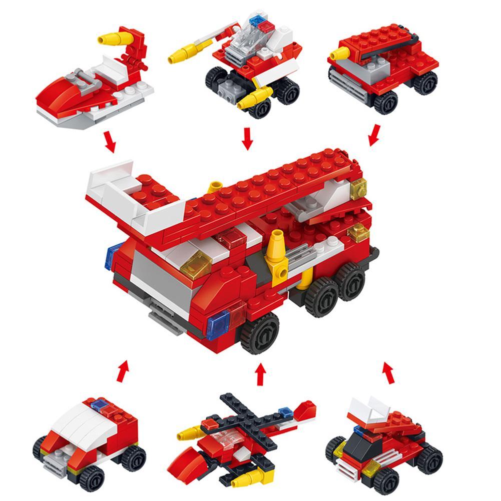 Koop Goedkoop Mode 6 Stks/set Mini Insect Dinosaurus Techniek Politie Speelgoed Bouwstenen Kids Gift Uitverkoop Totale Korting 50-70%