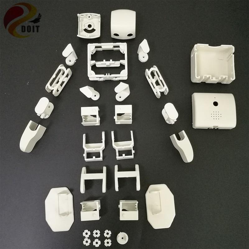 цена на ViVi Plen2 Humanoid Robot Frame Educational Kit Compatible with Arduino 3D Printer DIY RC Robot Toy