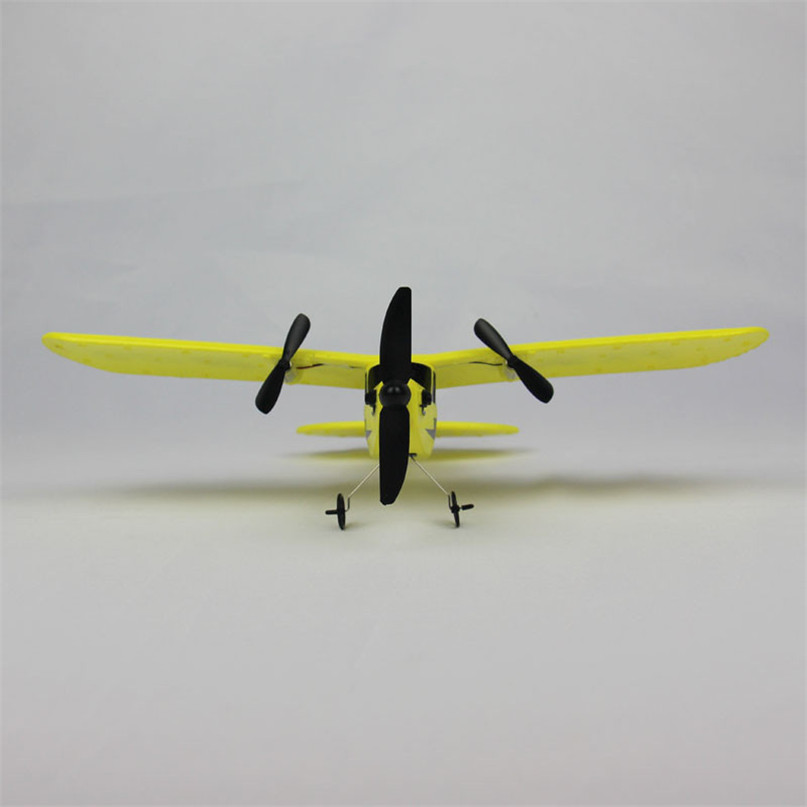 Yellow Color Hot HL-803 RC Remote Control Helicopter Plane Glider Airplane EPP Foam 2CH 2.4G Toys Dropshipping JU10 boy toys foam remote control plane 4ch rc plane 600m control fixed wing f15 s27 fighter glider aircraft model epp kids toys
