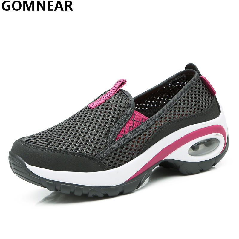 GOMNEAR Women's Light Sport Running Shoes Outdoor Breatahable Training Sneakers Jogging Athletic Shoe for Women Tourism Trainers adidas women s shoes running shoes training shoes sneakers free shipping