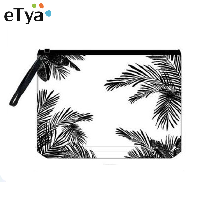 ETya PVC Transparent Cosmetic Bag Travel Women Necessary Toiletry Bag Makeup Brush Bags Organizer Case Bath Wash Make Up Box