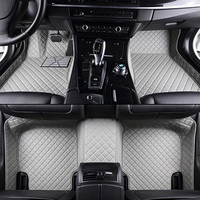 Custom car floor mats for peugeot all models 307 206 308 407 207 406 408 301 3008 car accessories car styling floor mat