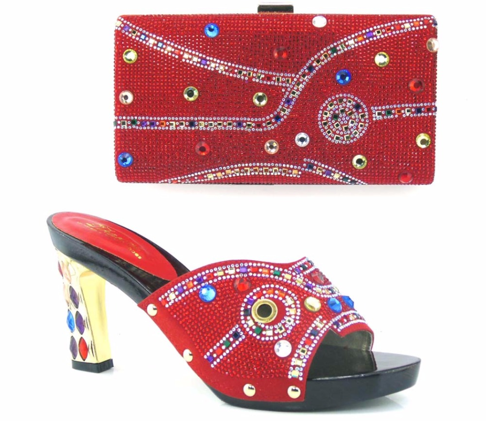 (TH16-39)NEW Beautiful Design Italian Shoes With Matching Bags To Match African Shoes And Matching Bag Sets For Wedding Dress