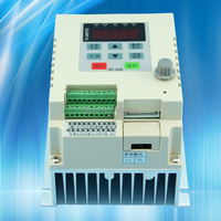 VFD023 VFD Single Phase 1 5KW 220V VARIABLE FREQUENCY DRIVE INVERTER Output 1 Phase