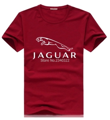 summer personalized short sleeve jaguar Cotton short sleeved T shirt