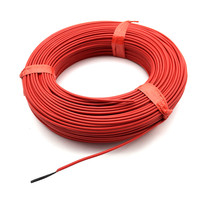 100m Carbon Fiber Heating Wire Floor Heating Cable System Teflon Hotline 12K 33 Europe Heating Equipment