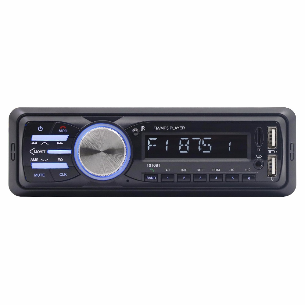 Bluetooth voiture lecteur mp3 voiture audio carte hôte prise U disque radio