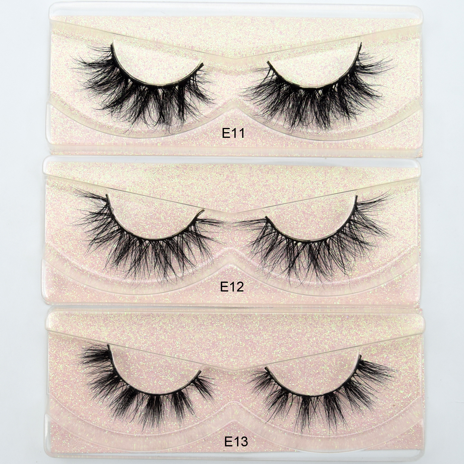 Image 4 - Free DHL 100pairs Visofree Eyelashes 3D Mink Lashes Handmade Mink Dramatic Lashes 68styles cruelty free reusable lashes wholsale-in False Eyelashes from Beauty & Health