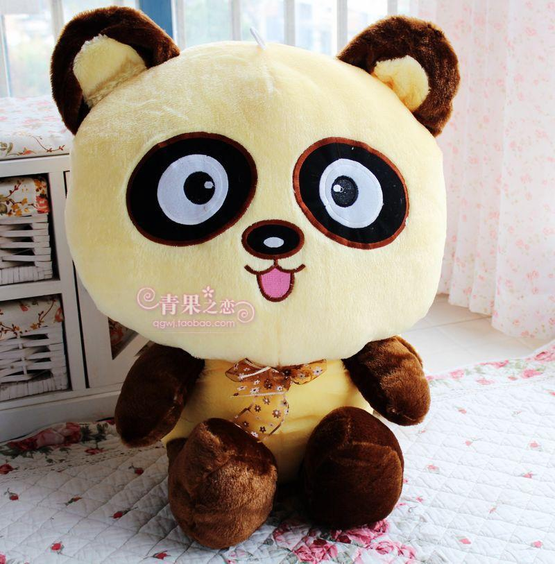 stuffed animal 60cm lovely raccoon plush toy big eyes raccoon doll gift w5035 stuffed animal 90 cm plush dolphin toy doll pink or blue colour great gift free shipping w166