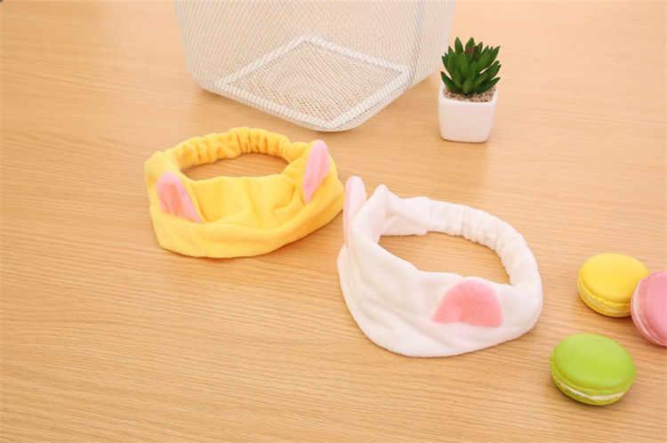 Vendas diretas de banda orelha de gato do estilo Japonês e Coreano faixa de cabelo lavar o rosto maquiagem gato esportes bate cabeça banho cinto