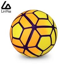 Горячая 2016 Размер 5 Размер 4 Бесшовные ПУ Футбольный Мяч Лиги Чемпионов Гранулы противоскользящие Футбольный Мяч Высокого Качества на Матч(China (Mainland))