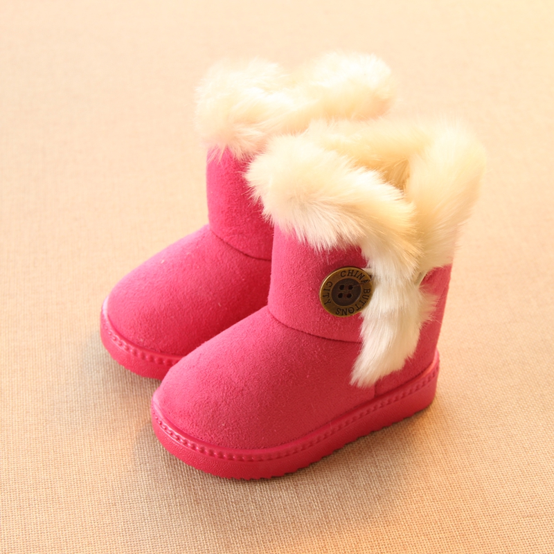 Winter-Children-Boots-Thick-Warm-Shoes-Cotton-Padded-Suede-Boots-for-Girls-Snow-Boots-Kids-Shoes-Black-Brown-Red-Pink-1
