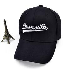 Dreamville Custom Unstructured Black Dad Hat Unisex Casual Baseball Caps Letter Adjustable sports hat