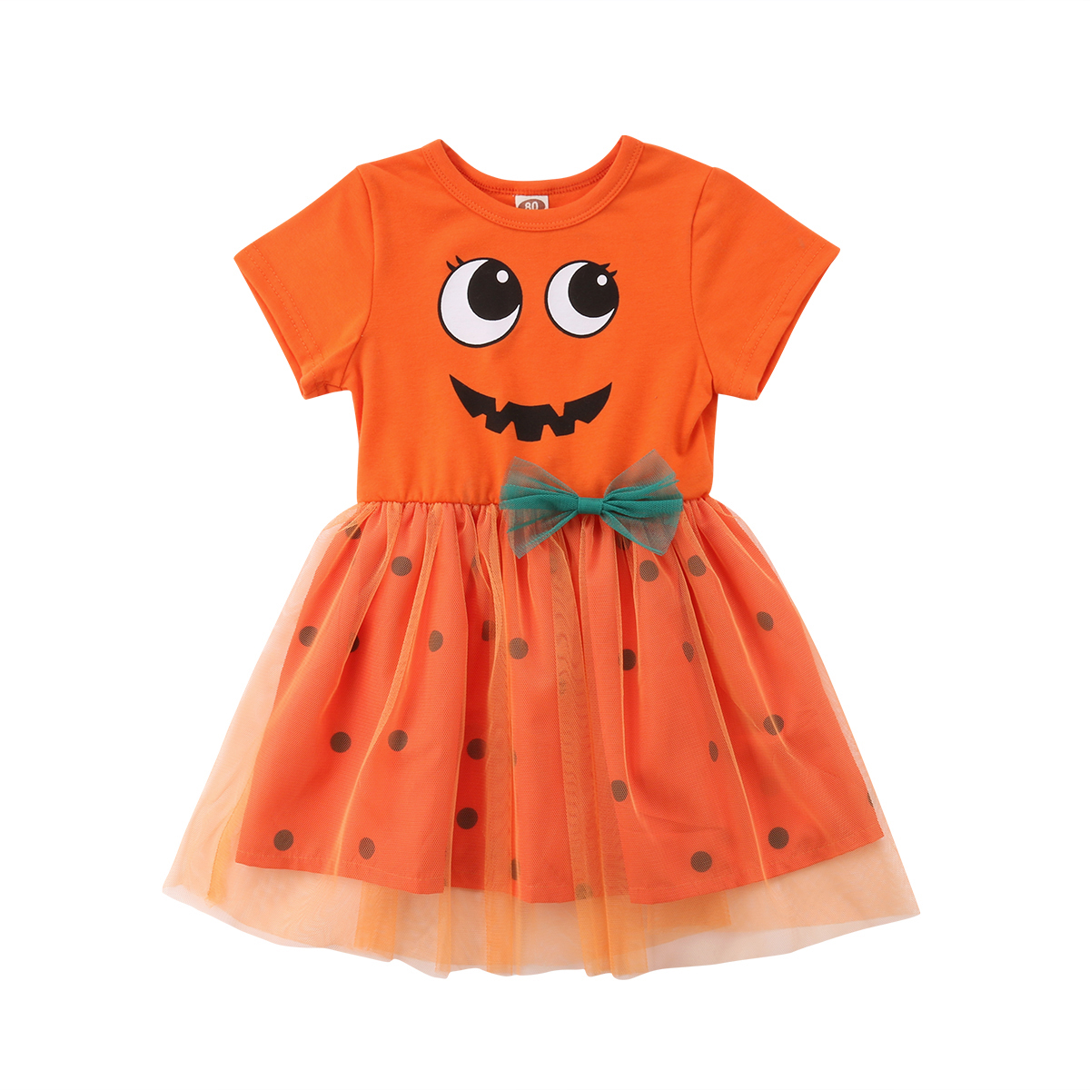 New Girls Pumpkin Fairy Halloween Costume Dress Outfits Little Girl Party Fancy Dresses Clothes Cosplay hot new year children girls fancy cosplay dress snow white princess dress for halloween christmas costume clothes party dresses