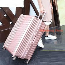 22 INCH 2022242628# rod universal wheel anti scratch PC Travel Genuine suitcase board box men and women 24 #EC FREE SHIPPING