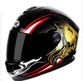 Locomotive motorcycle racing helmet 4 seasons racing helmets the roadster motorcycle helmet male lion multiple pattern