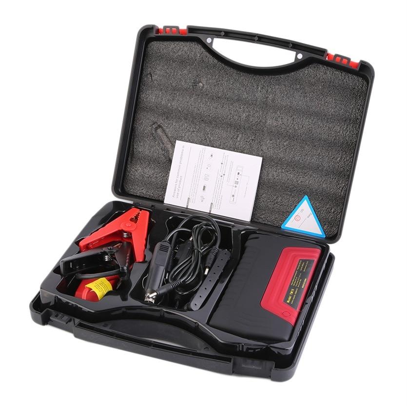 Nouveau Mini Portable Batterie Chargeur De Voiture 50800 mah D'urgence Commencer 12 v Essence et Diesel Moteur Multi-Fonction De Voiture