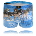 Hot Men's Shorts Boxer Men Underwear Boxers 3XL Man Print Wolf Boxers Cotton Underwear Men Cuecas Plus Size Boxers Underpants