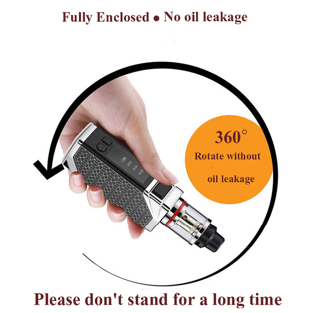 , Original HB 80w box mod kit 2200mah build-in battery with 0.5ohm 2.5ml tank  vapor kit electronic cigarette vape pen kit