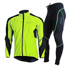 NUCKILY 2016 Biking Jacket Set Winter Males Ropa Ciclismo Maillot Male Bicycle Using Mtb Garments Thermal Jersey and Pants Swimsuit
