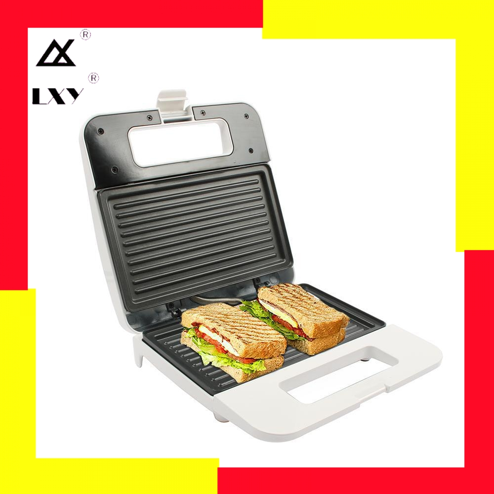 Electric Egg Sandwich Maker Mini Grilling Panini Baking Plates Toaster Multifunction Non Stick waffle Breakfast Machine EU