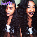 Iwish Hair Brazilian Body Wave 3Pcs Wet Wavy Mink Brazilian Hair Bundles Brazilian Virgin Hair Body Wave Human Hair Extensions