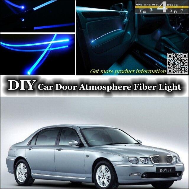 interieur omgevingslicht tuning sfeer glasvezel band lichten voor rover 75 binnen deur panel verlichting niet el